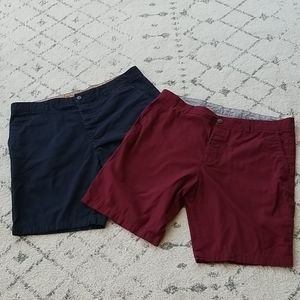 2 pair of H&M shorts size 36